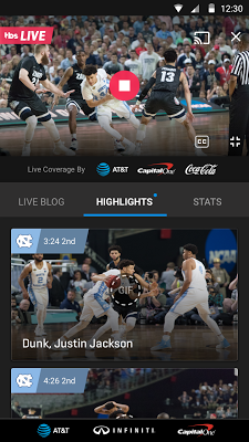 NCAA March Madness Live - screenshot