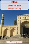 On the Silk Road: Kashgar Old City, China // Id Kah Mosque