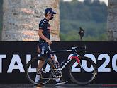 Het is niet duidelijk of Geraint Thomas aan de start zal verschijnen van de vierde etappe in de Giro