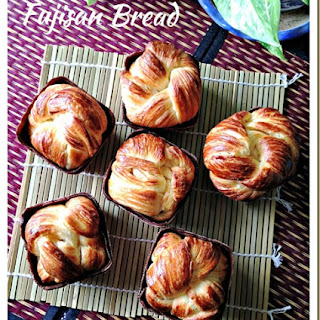 Unsure If It Is From Holland or Denmark &hellip ;. Danish Pastry Loaf (丹麦吐司条)And Fujisan Bread (富士山面包).