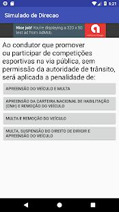 Simulado de Direção - náhled