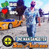 One Man Gangster: San Andreas Android APK Download Free By ActionCrab Games