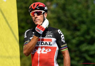 """Knappe vijfde plaats voor Philippe Gilbert in de Omloop: """"Het is voor mij zeker niet slecht"""""""