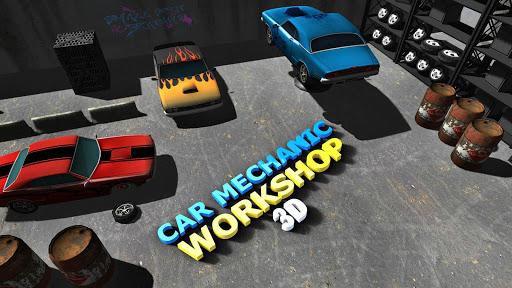 Sports Car Mechanic Workshop 3D 1.5 1