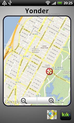Yonder - Locations for Kik