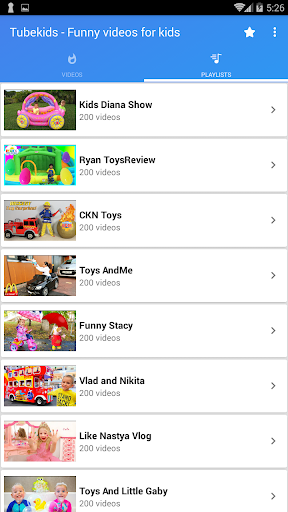 Tubekids - Funny Kids Shows - screenshot