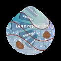 Blue reflection GO Keyboard icon