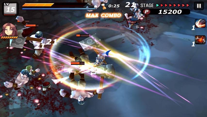 android Samurai Combat - 3D bataille Screenshot 3