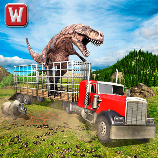 Monster Dino Offroad Transport Truck Adventure