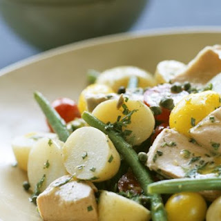Flaked Tuna and Potato Salad