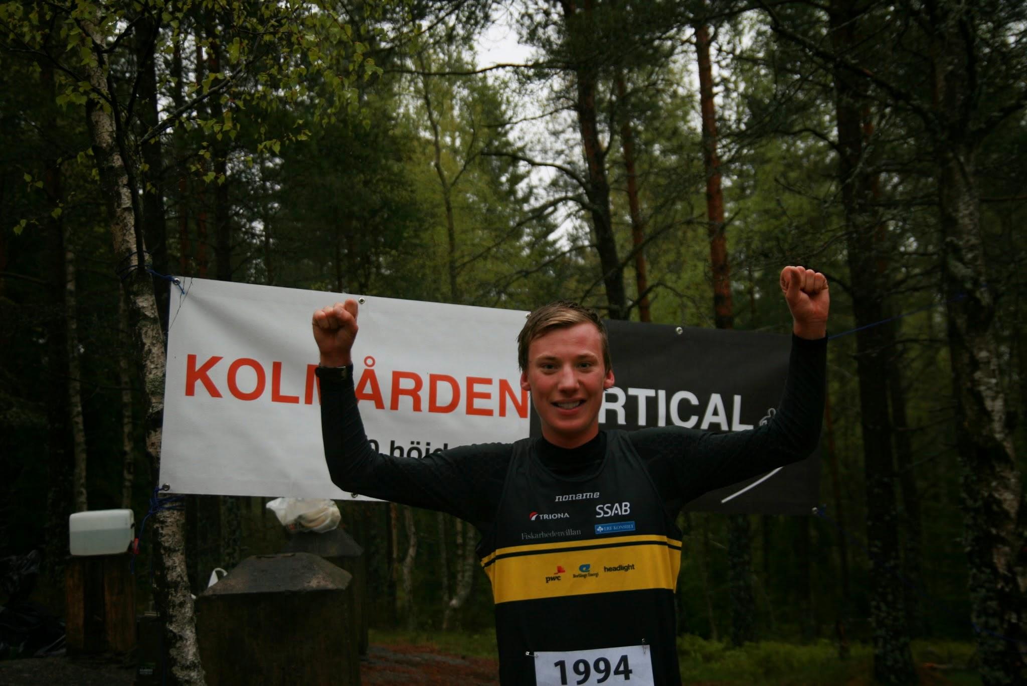 Photo: Emil Svensk JVM-Guld orientering 2013 - nu vinnare i Kolmården Vertical 2014! Stort grattis!