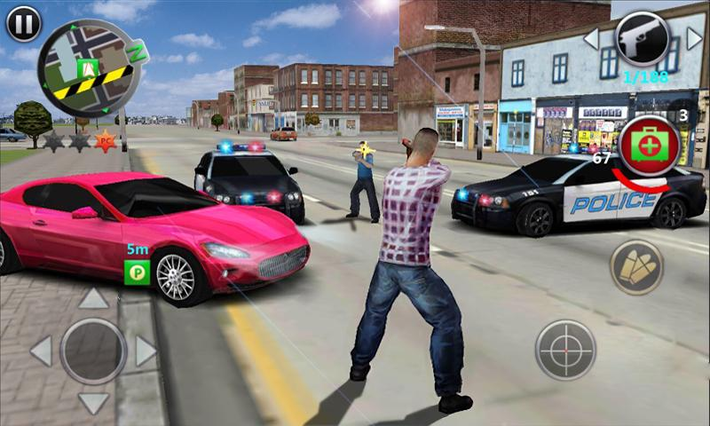 Screenshots of Grand Gangsters 3D for iPhone