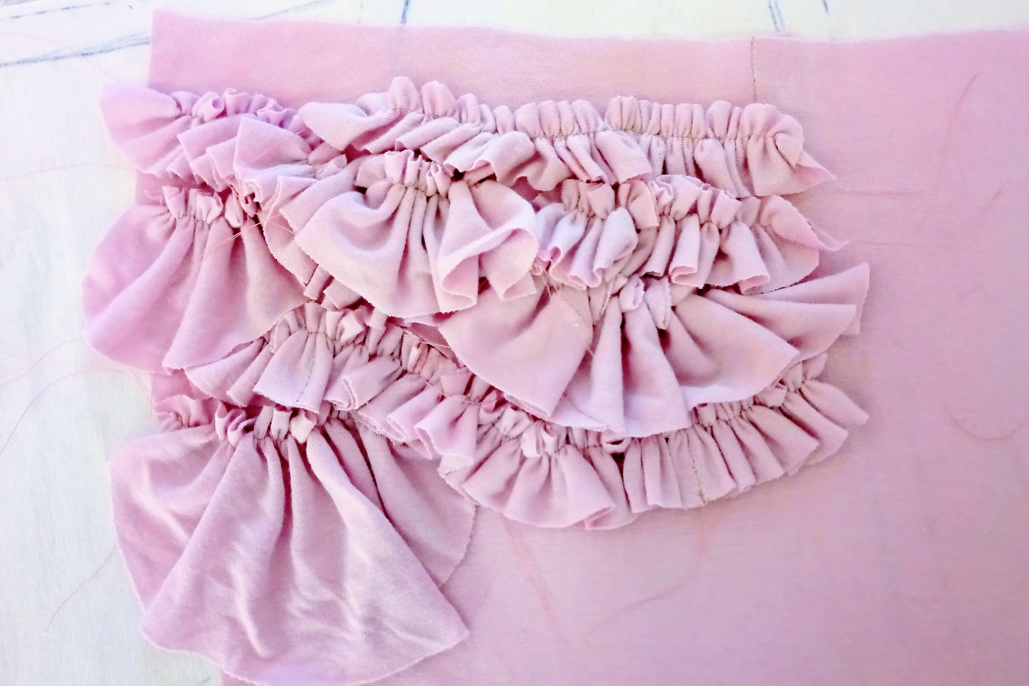 Pink sleepwear set - DIY Fashion project | fafafoom.com