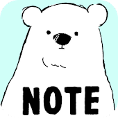 Sticky Note Shirokuma-Days