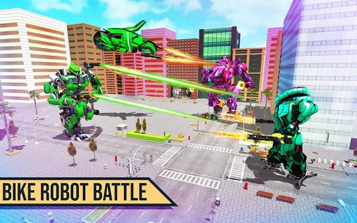 Real Moto Robot Transform: Flying Bike Robot Wars download 1