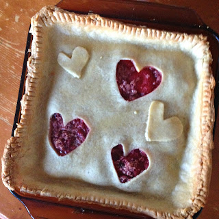 Strawberry Square Pie