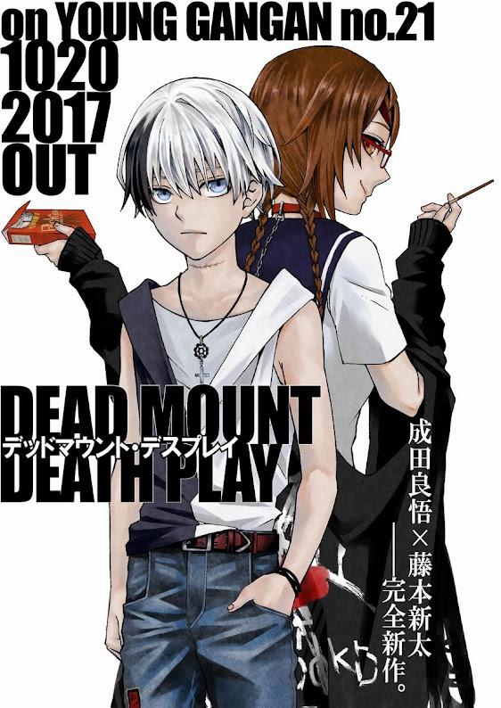 Imagen preliminar del manga.