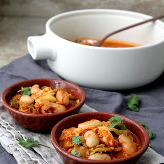 Spanish Cabbage and Butter Bean Stew Recipe