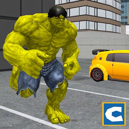 Cidade do herói do monstro