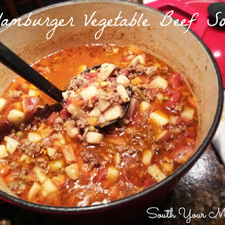 Hamburger Vegetable Beef Soup