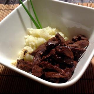 Beef Heart Stir Fry