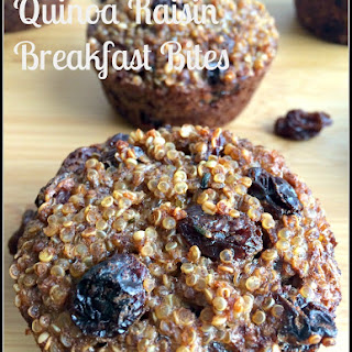 Quinoa Raisin Breakfast Bites
