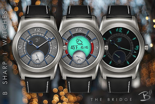 Download The Bridge - Luxury face for smart watches MOD APK 3