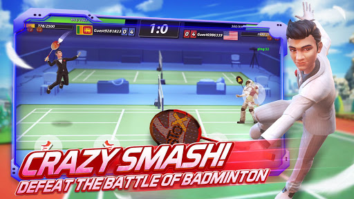 Badminton Blitz - 3D Multiplayer Sports Game apkdebit screenshots 2