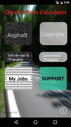 Asphalt Calculator Advanced  screenshots 1
