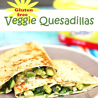 Gluten Free Veggie Quesadillas