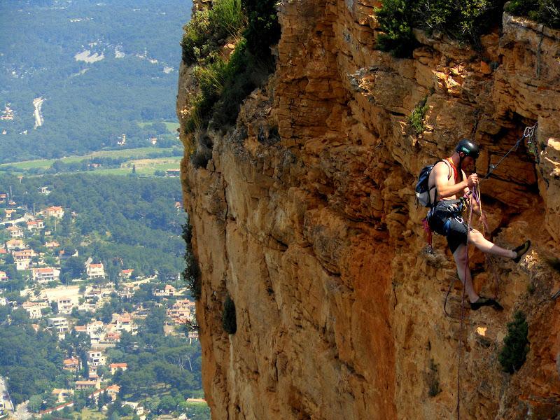 l'arrampicata di provenza