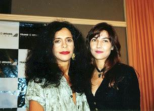 Photo: With internationally acclaimed Brazilian singer Gal Costa