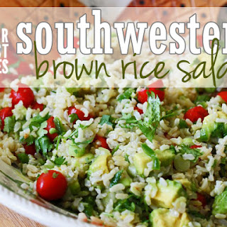 Southwestern Brown Rice Salad.