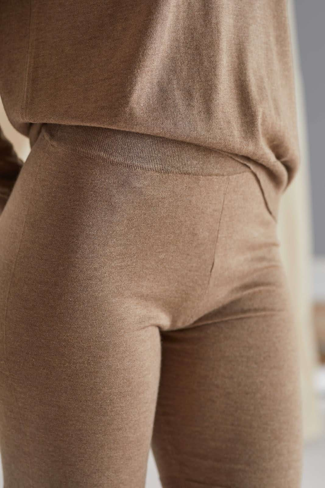 Fine Knit Bike Shorts