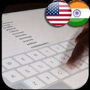 keyboard hindi and english typing