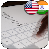 keyboard hindi and english typing