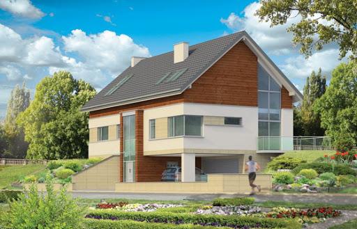 projekt Dom na górce