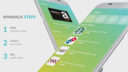 Pedometer winwalk - walk, sweat & win egift cards 2.1.2 screenshots 7