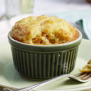 Individual Creamed Corn and Bacon Soufflés