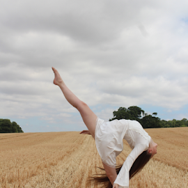 Beautiful Exorcist by Kelly Moore - Novices Only Portraits & People ( dancer, beauty, nature, ballet, dance )
