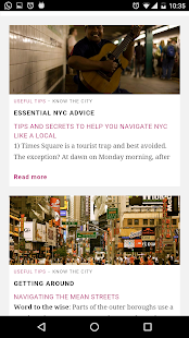 New York City Guide- screenshot thumbnail