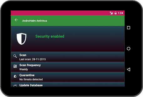 AntiVirus Android. Screenshot