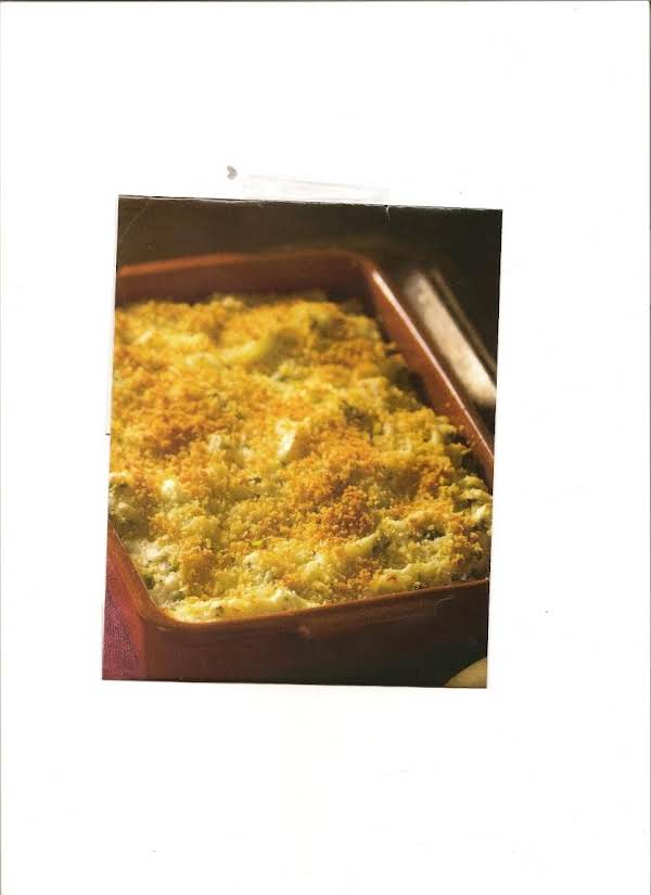 Green Onion Mashed Potatoes With Parmesan Crust