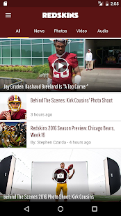 Washington Redskins- screenshot thumbnail