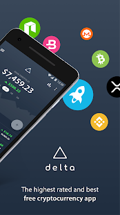 Delta - Cartera de criptomonedas y Bitcoin Screenshot