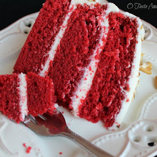 Classic Red Velvet Cake with Cream Cheese Frosting