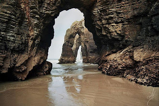 Photo: La playa de las catedrales (Ribadeo, Lugo)