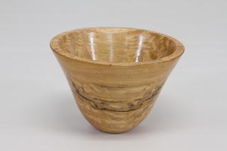 """Photo: Elliot Schantz 3"""" x 3 1/2"""" bowl [spalted maple]"""