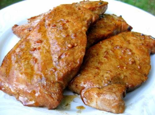 Cumin Grilled Pork Chops