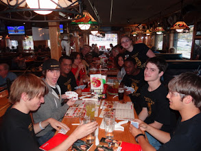 Photo: Applebees after day 2